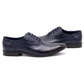 Lukas Men's formal shoes 291 navy blue 5