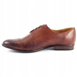 Olivier Men's formal shoes 301GT brown 1