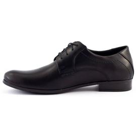 Mario Pala Men's formal shoes 704 black 1