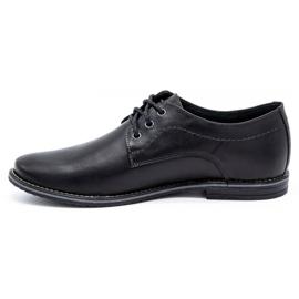 Mario Pala Men's formal shoes 870 black 1