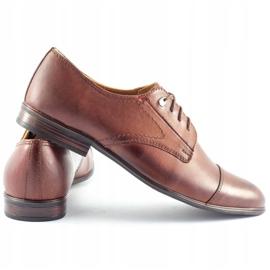 Olivier Men's formal shoes 301GT brown 4