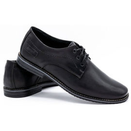 Mario Pala Men's formal shoes 870 black 4