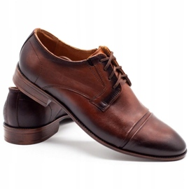 Joker Men's formal shoes 938 brown 4