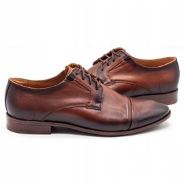 Joker Men's formal shoes 938 brown 5