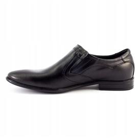 Lukas Men's formal slip-on shoes 284 black 1