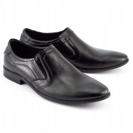 Lukas Men's formal slip-on shoes 284 black 2