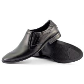 Lukas Men's formal slip-on shoes 284 black 3