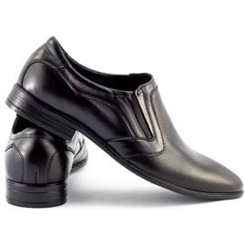 Lukas Men's formal slip-on shoes 284 black 4