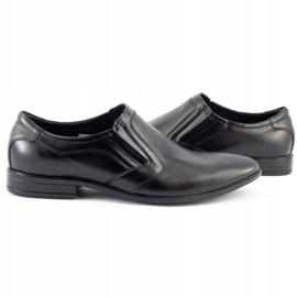 Lukas Men's formal slip-on shoes 284 black 5