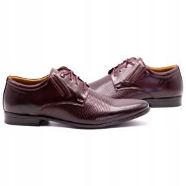 Olivier Burgundy formal shoes 482 red multicolored 5