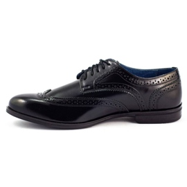 Olivier Formal shoes Black brogues 1