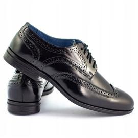 Olivier Formal shoes Black brogues 4