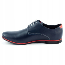 Olivier Formal shoes 1094 navy blue 1