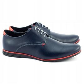 Olivier Formal shoes 1094 navy blue 2