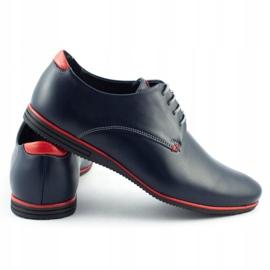 Olivier Formal shoes 1094 navy blue 4