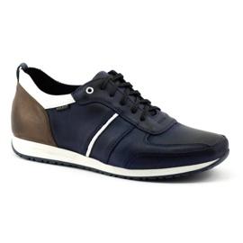 Polbut Men's shoes C21 navy blue 1