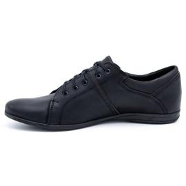 Polbut Black men's shoes C25 1
