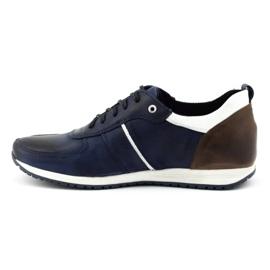 Polbut Men's shoes C21 navy blue 2