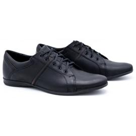 Polbut Black men's shoes C25 2
