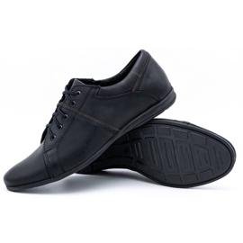 Polbut Black men's shoes C25 3