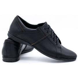 Polbut Black men's shoes C25 4