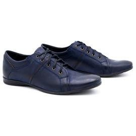 Polbut Men's shoes C25 navy blue 2
