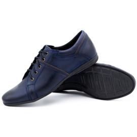Polbut Men's shoes C25 navy blue 3