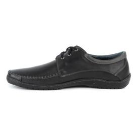 Mario Pala Men's Loafers 539 Black 2