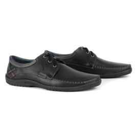 Mario Pala Men's Loafers 539 Black 3