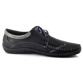 Mario Pala Men's Loafers 539 Black 5