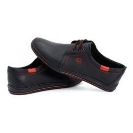 Polbut Leather shoes for men 343 black 6