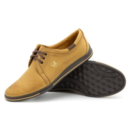 Polbut Leather shoes for men 343 red multicolored 3