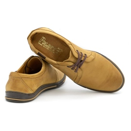 Polbut Leather shoes for men 343 red multicolored 4