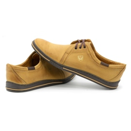 Polbut Leather shoes for men 343 red multicolored 5