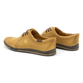 Polbut Leather shoes for men 343 red multicolored 6