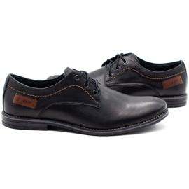 ABIS Leather men's shoes 4149 black grain 5