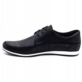 Polbut Leather men's shoes C22 black 1