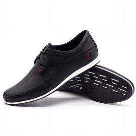 Polbut Leather men's shoes C22 black 3