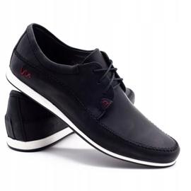 Polbut Leather men's shoes C22 black 4
