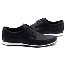 Polbut Leather men's shoes C22 black 5