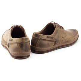Polbut Leather men's shoes J44PŁ brown 4