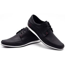 Polbut Leather men's shoes C22 black 6