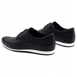 Polbut Leather men's shoes C22 black 7