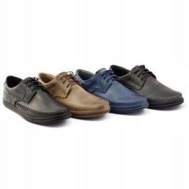 Polbut Leather men's shoes J44 Brown 8