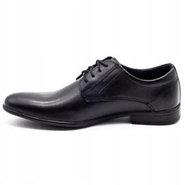 KOMODO Formal men's shoes 850 black mat 1