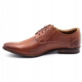 KOMODO Formal men's shoes 850 brown 1