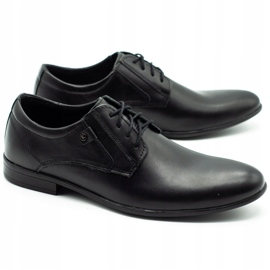 KOMODO Formal men's shoes 850 black mat 2