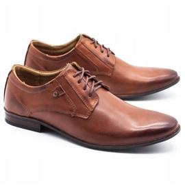 KOMODO Formal men's shoes 850 brown 2