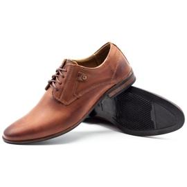 KOMODO Formal men's shoes 850 brown 3
