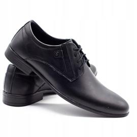 KOMODO Formal men's shoes 850 black mat 4